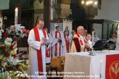 (008) The Service begins, Archdeacon of Nortampton on the left