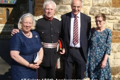 (012) Lord Lieutenant, MP and wives